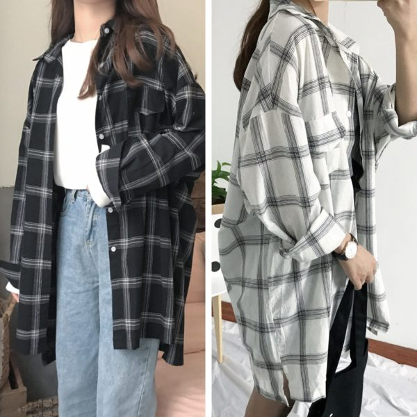 Frankie Flannel Top